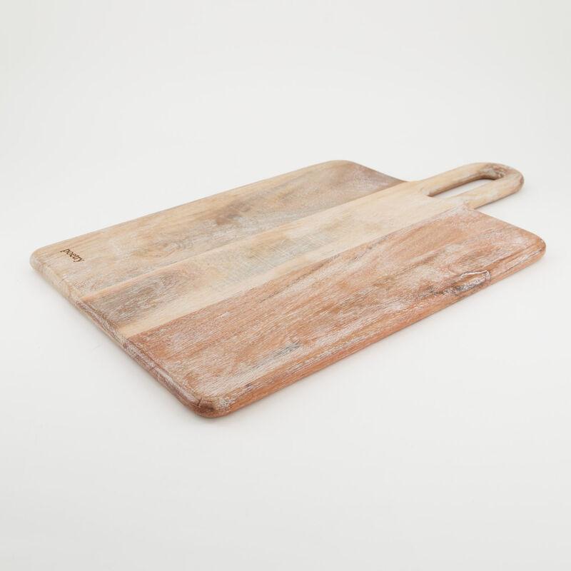 Light Wash Acacia Paddle Board -  brown