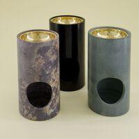 Grey Minimal Soapstone Oil Burner -  dc0200
