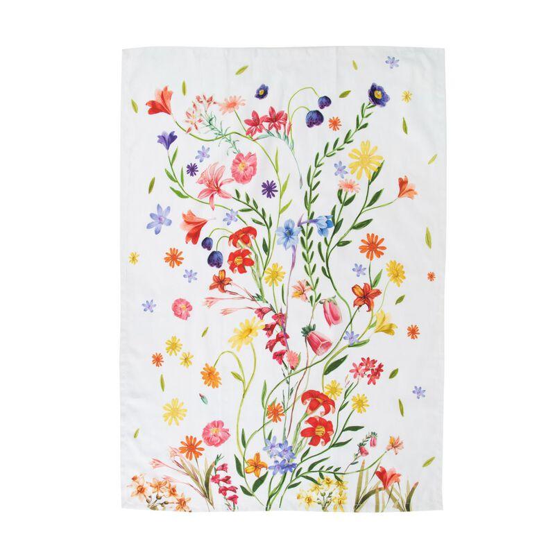 Dried Flower Tea Towel -  assorted