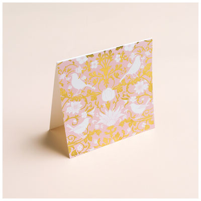 Blush Chintz Card