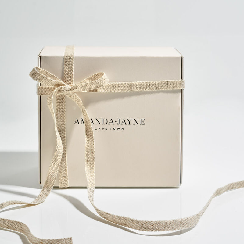 Amanda Jayne Fresh Zest Gold Tin & Home Fragrance Set -  c99