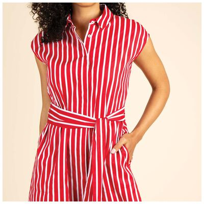 Emerys Stripe Shirt Dress
