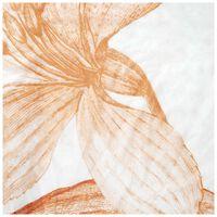 Everly Silk Scarf -  orange-milk