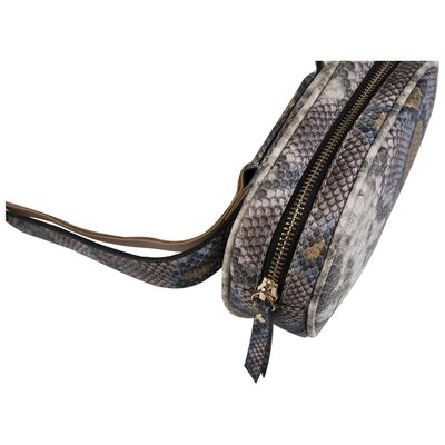 Zariah Vegan Leather Oval Belt Bag