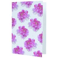 Bloom Roses Card -  red-assorted