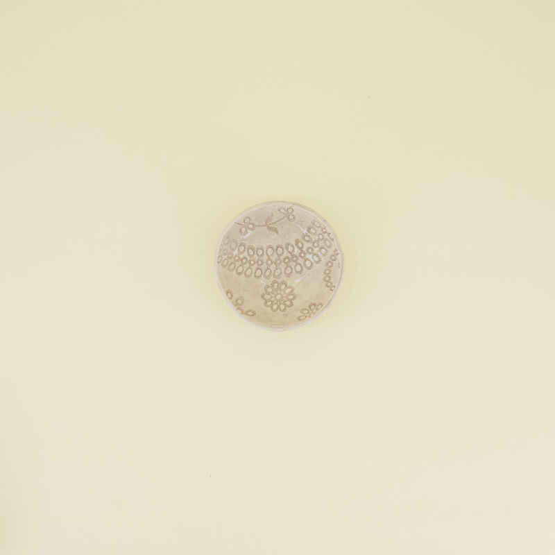 Wonki Ware Oliva Grey Pattern Salt Pinch Pot -  grey