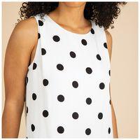 Mariah Spot Dress -  milk