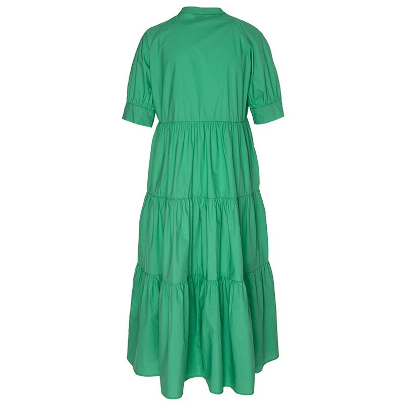 Jackie Tiered Dress -  green