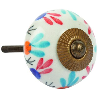Multi-colour Painted Knob