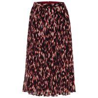 Larkin Pleated Skirt -  red