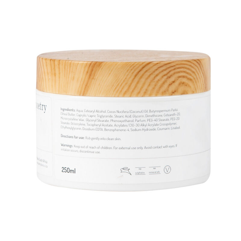 Cocoon Body Butter -  white-brown
