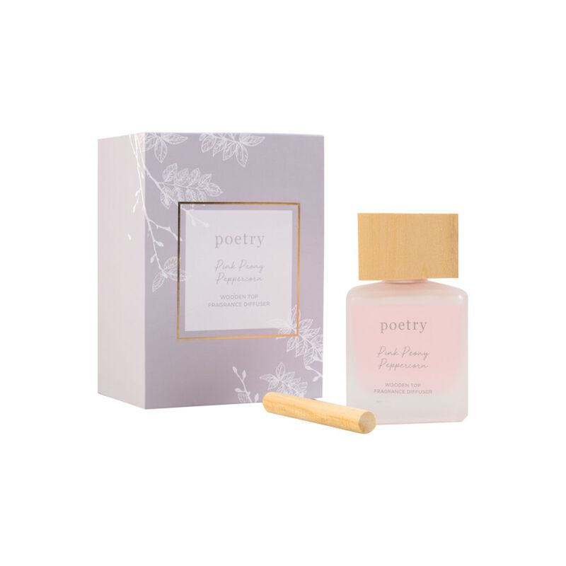 Pink Peony Peppercorn Diffuser -  assorted