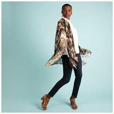 Fleur Silk Kimono