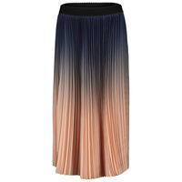 Jina Ombre Pleated Skirt -  blue