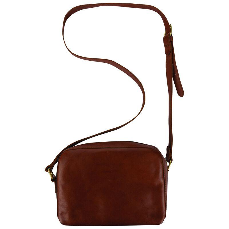 Kenya Plaited Cross Body Bag -  brown
