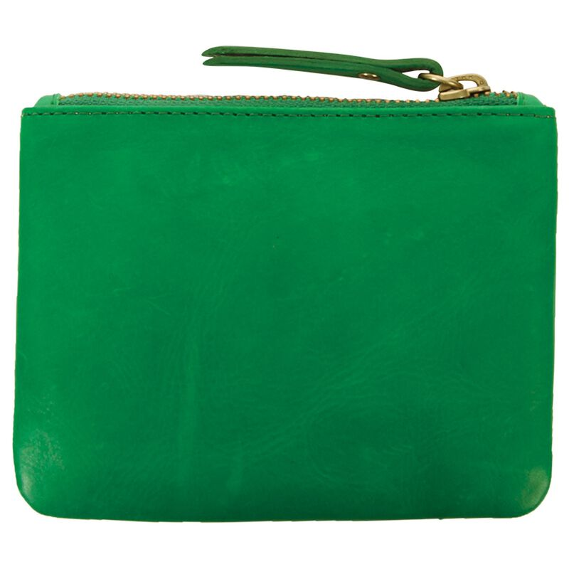 Moira Small Leather Pouch -  green