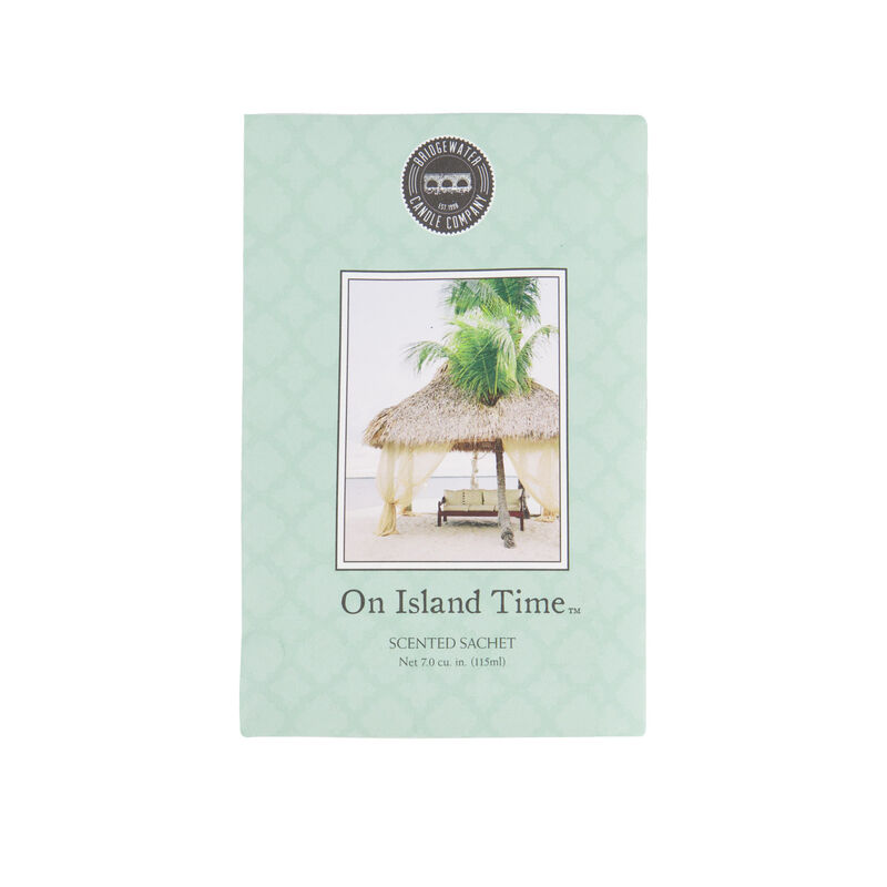 On Island Time Fragrance Sachet -  assorted
