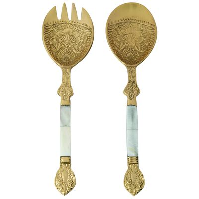 Mother of Pearl Server Set