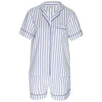 Lea Striped Pyjama Set -  blue-white