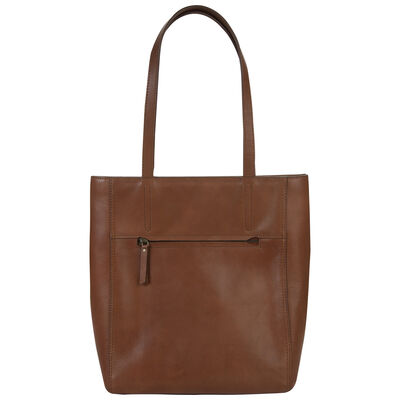 Alisyn Leather Tote Bag