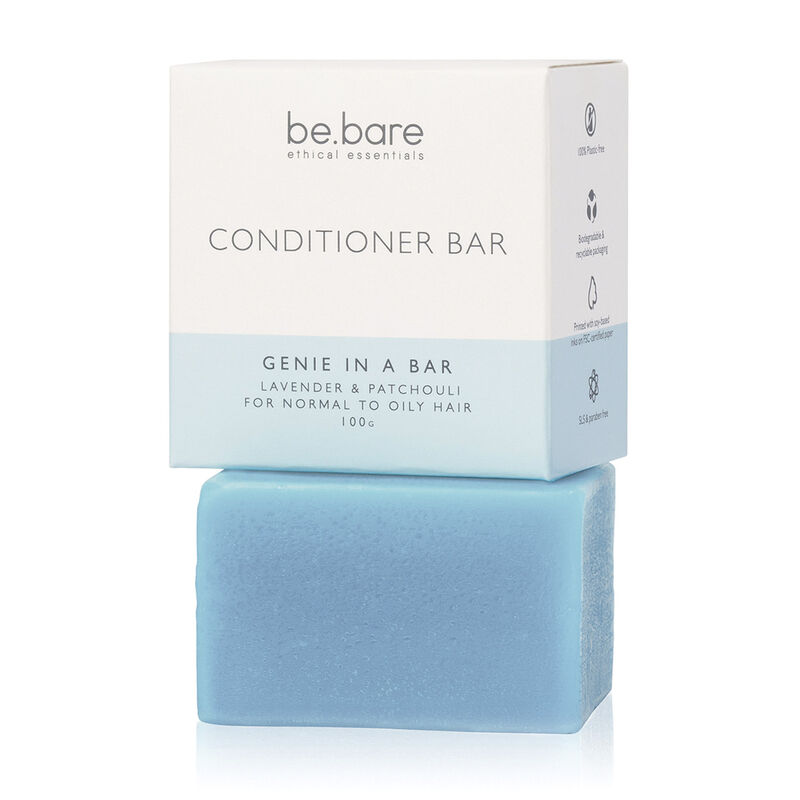 Be Bare: Genie in a Bar Conditioner -  blue