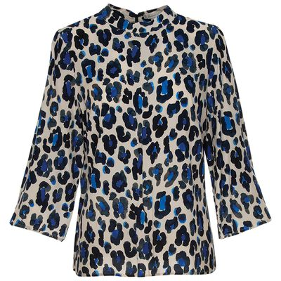 Amora Animal Print Blouse