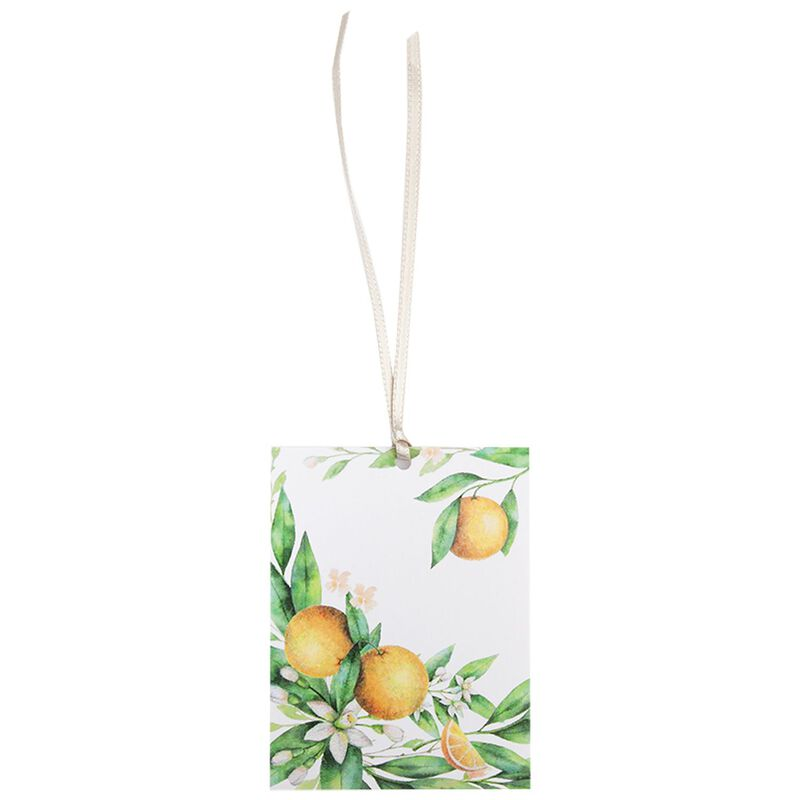 Orange Blossom Gift Tag -  assorted