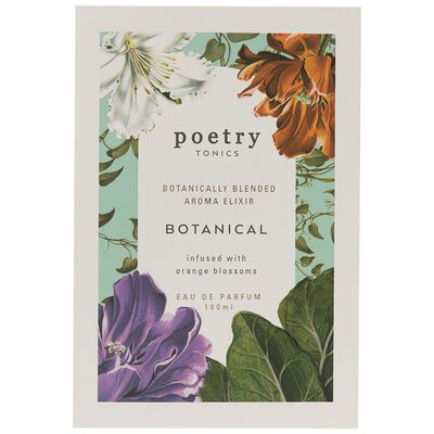 Botanical Tonic by Poetry
