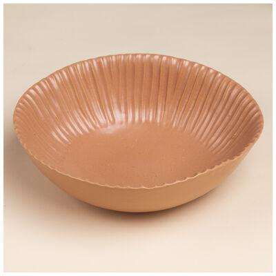 Pret-a-Pot Matte Coral Pink Salad Bowl