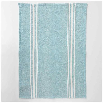 Barrydale African Contemporary Teal Tea Towel