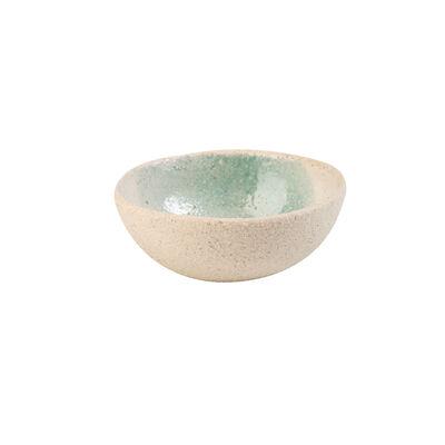 Light Blue Textured Snack Bowl