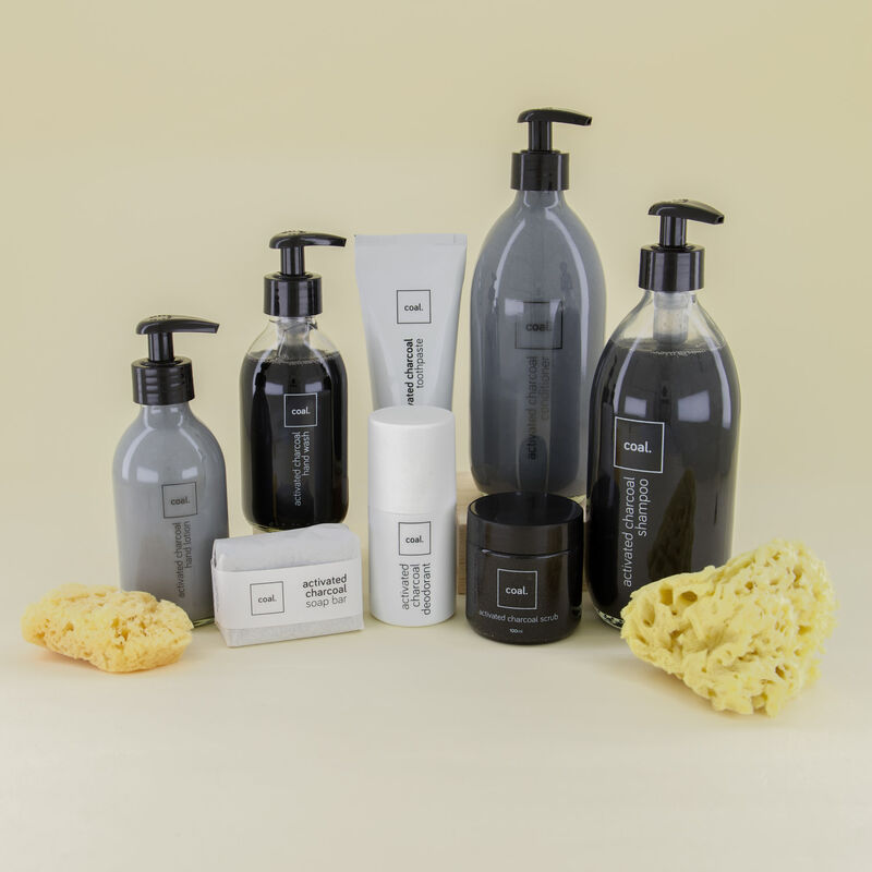 Coal Activated Charcoal Shampoo -  c01