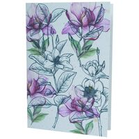 Growing Paper Soft Floral Card -  assorted