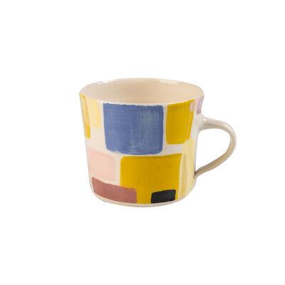 Wonki Ware Black Sunbaked Mug