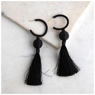 Statement Tassel Drop Earrings