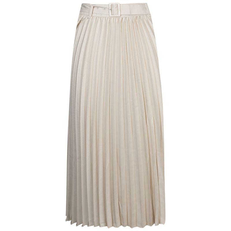 Jasmin Pleated Skirt -  cream