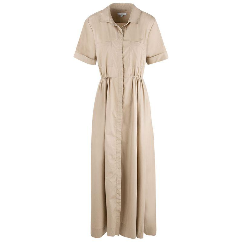 Kady Shirt Dress -  stone