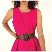Elodie Poplin Dress -  fuchsia