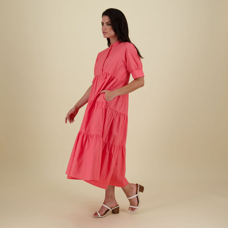 Josephine Maxi Dress -  pink