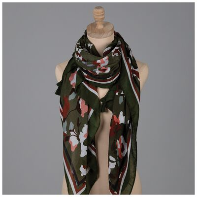 Annalee Abstract Print Scarf
