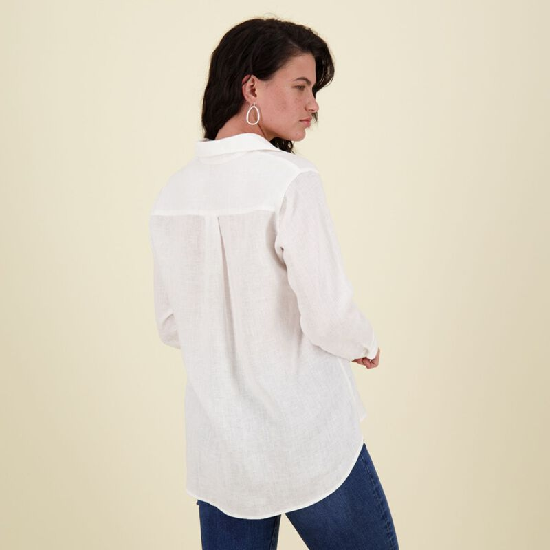 Sally Linen Blouse -  c09