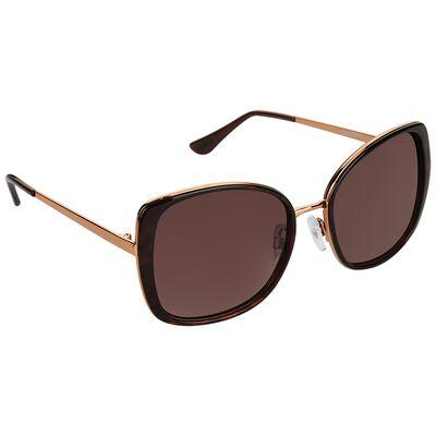 Polarised Modern Square Sunglasses