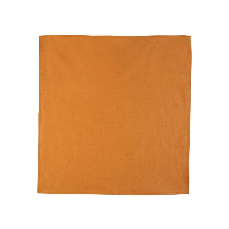 Spruce Linen Napkin Set -  rust