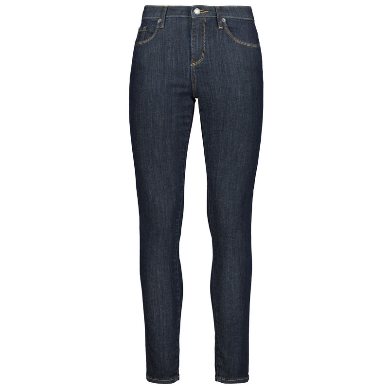 Kayla Raw Skinny Denim -  indigo