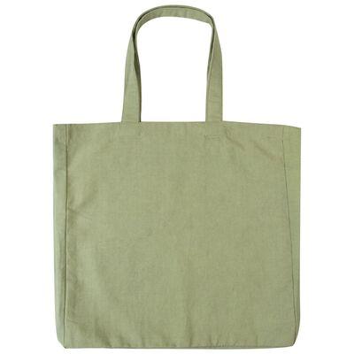 Sage Canvas Tote Bag