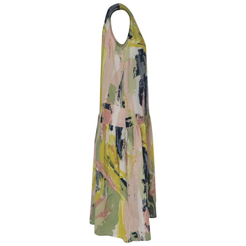 Valora Tiered Dress -  blue