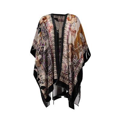 Aspen Velvet Burn-out Kimono
