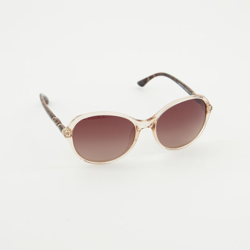 Polarised Rounded Tort Sunglasses -  dc1500