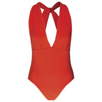 Joy One-Piece Swimsuit -  orange
