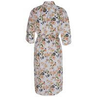 Raelynn Floral Gown -  white-pink